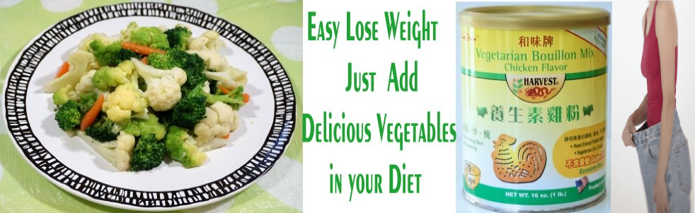 Lose weight vegetables diet